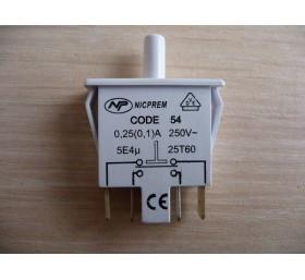 Кнопка для холодильника Siemens (4 контакта)