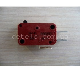Микровыключатель METALFLEX для микроволновой печи (3 контакта)