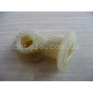 Шестерня привода ремня хлебопечи, d=13,5/23 мм, 15 зубов