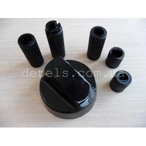Ручка для кухонной (газовой) плиты черная универсальная