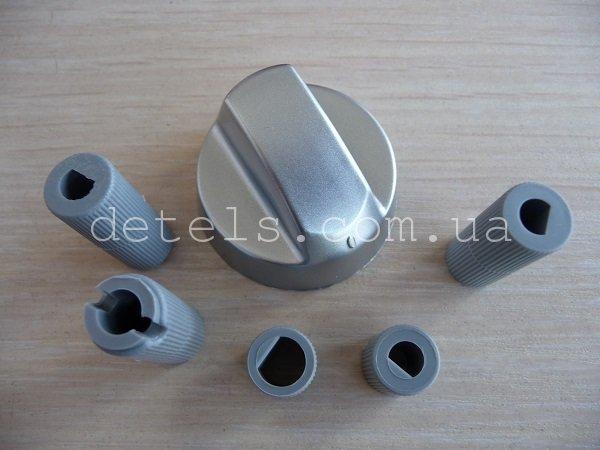 Ручка для кухонной (газовой) плиты универсальная, цвет серебро