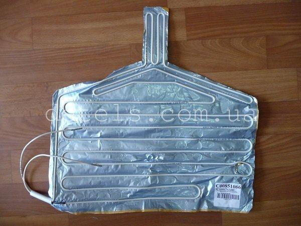 Нагреватель поддона (тэн) холодильника Indesit, Ariston, Stinol (C00851066, 160017624)
