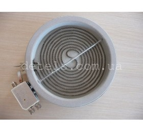 Тэн (нагреватель) стеклокерамической плиты Indesit, Ariston и др (C00139035) 165..