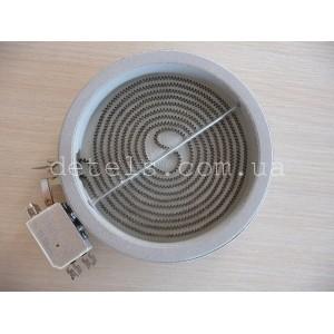 Тэн (нагреватель) стеклокерамической плиты Indesit, Ariston и др (C00139035) 165 мм, 1200W