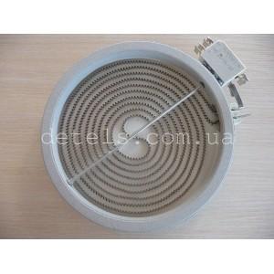 Тэн (нагреватель) стеклокерамической плиты Indesit, Ariston и др (C00139036) 200 мм, 1800W