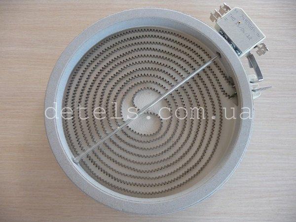 Конфорка Eika C00139036 200мм 1800W для стеклокерамической плиты Indesit, Ariston (универсальная)