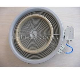 Конфорка 2200/1000W 230 мм для стеклокерамической плиты Indesit, Ariston (C00089..