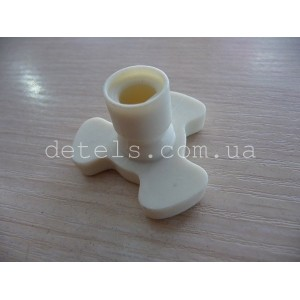 Куплер привода тарелки для СВЧ-печи, h = 21,5 мм, d = 33,5 мм, ширина лопасти 14 мм