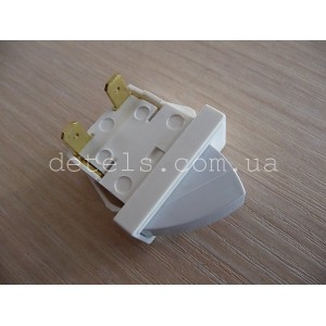 Кнопка включения освещения для холодильника Indesit, Ariston, Stinol (C00851157, 160021912)