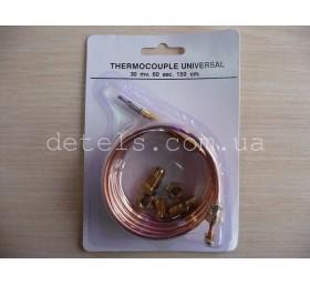Термопара для кухонной плиты универсальная 1500 мм с набором гаек