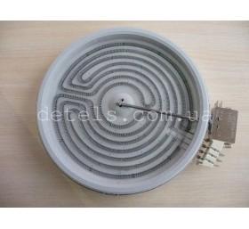Конфорка (ТЭН) EGO для стеклокерамической электроплиты 2100 W, 230 мм (160012121..