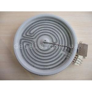 Конфорка (ТЭН) EGO для стеклокерамической электроплиты 2100 W, 230 мм (16001212100, 1071433054)