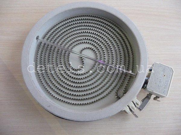Конфорка (тэн) 180mm 1400W для стеклокерамической поверхности плиты Ariston C00259729