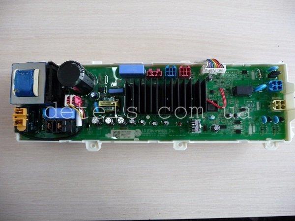 Модуль управления (плата) стиральной машины LG с прямым приводом (EAX64343313-C, EBR7750, EBR7579, EAX61985903-1)