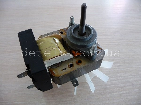 Двигатель обдува PLASET для духовки кухонной плиты Candy, Hoover WD1100 и др (9606/50398)