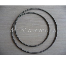 Пружина манжеты люка (хомут) для стиральной машины 3 мм, L = 640 мм универсальна..