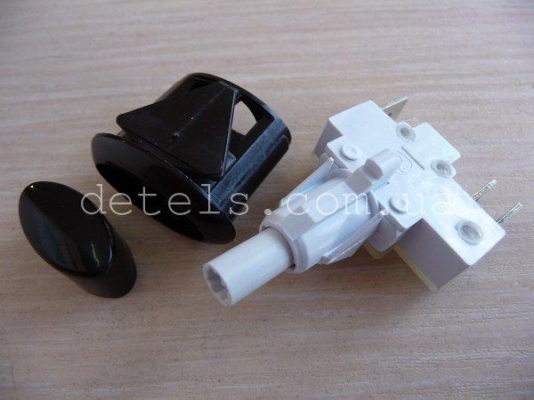 Кнопка розжига для кухонной плиты Gefest в комплекте с корпусом и колпачком