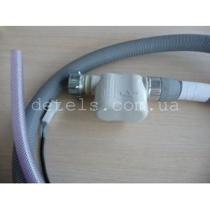 Шланг заливной Eltek с системой Аквастоп (aquasafe) для стиральной (посудомоечной) машины (C00282407, C00037207)